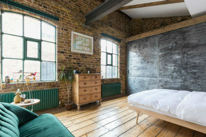 London Warehouse turned into industrial home 8