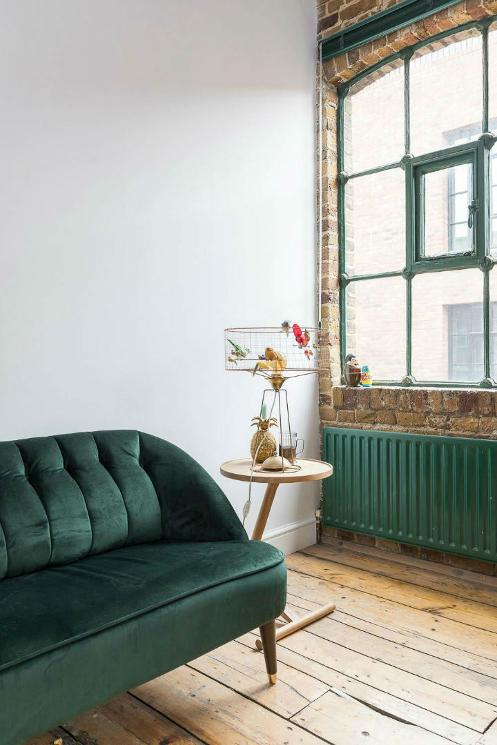 London Warehouse turned into industrial home 9