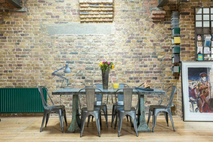 London Warehouse turned into industrial home 7