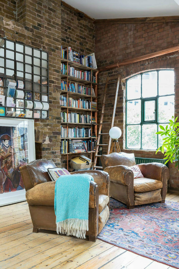 London Warehouse turned into industrial home 3