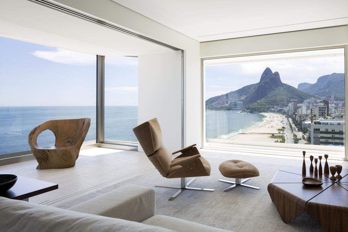 modern apartment in brazil with 360 degree views - Modern Apartment in Brazil With 360 Degree Views