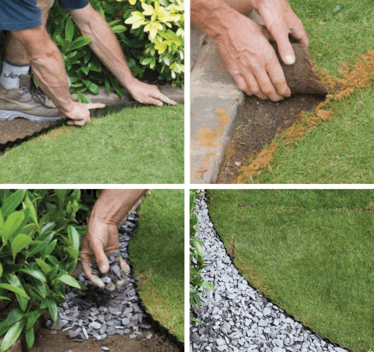 10 lawn edging techniques great for diy landscaping - 10 Lawn Edging Techniques Great For DIY Landscaping