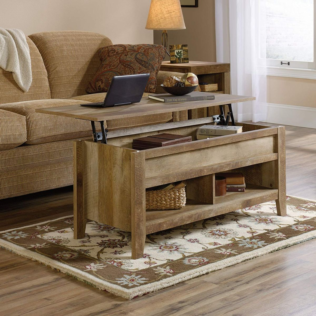 12 lift top coffee tables that surprise you in the best way possible - 12 Lift-Top Coffee Tables That Surprise You In The Best Way Possible