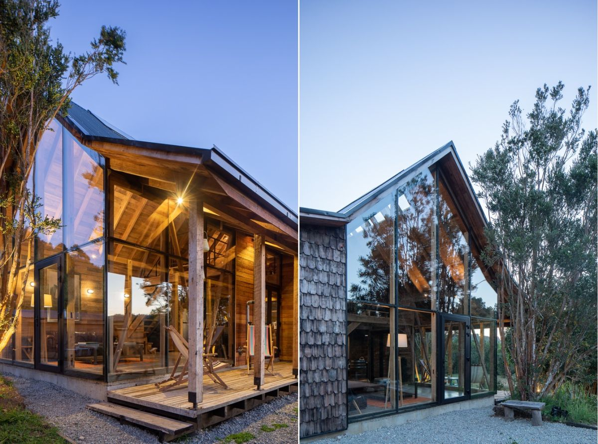 1567410253 170 modern lodge disguised as traditional using wooden shingles - Modern Lodge Disguised As Traditional Using Wooden Shingles