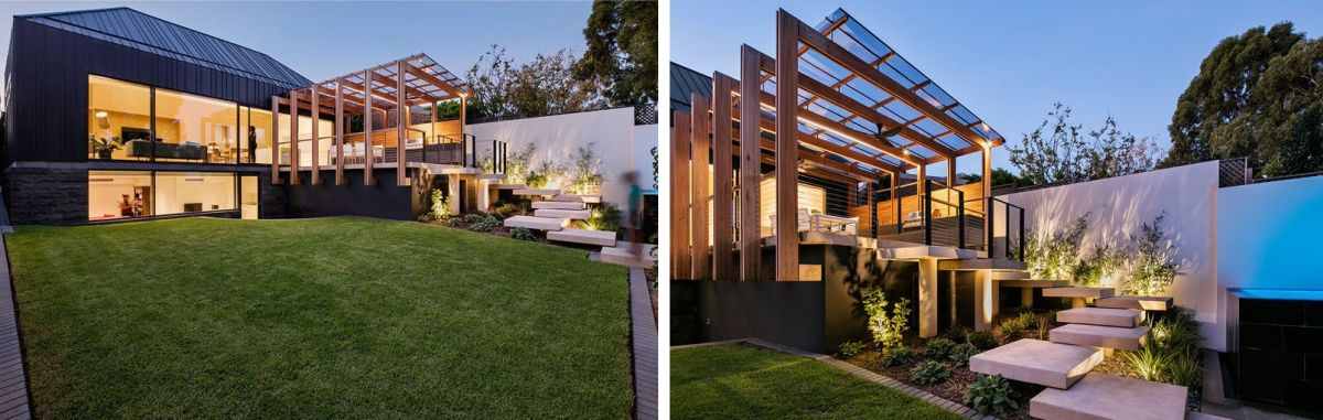 1567587289 756 beautiful houses with modern pergola extensions - Beautiful Houses With Modern Pergola Extensions