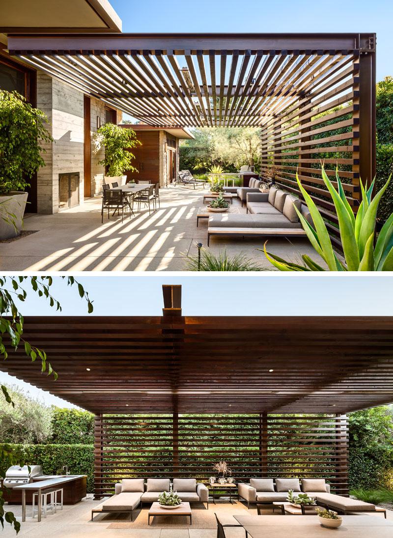 1567587289 768 beautiful houses with modern pergola extensions - Beautiful Houses With Modern Pergola Extensions