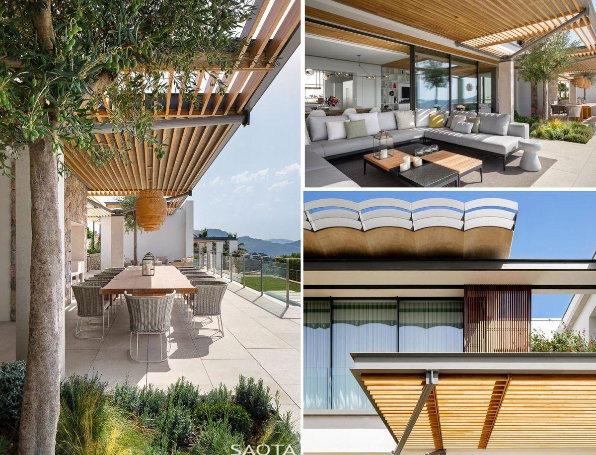 1567587290 989 beautiful houses with modern pergola extensions - Beautiful Houses With Modern Pergola Extensions