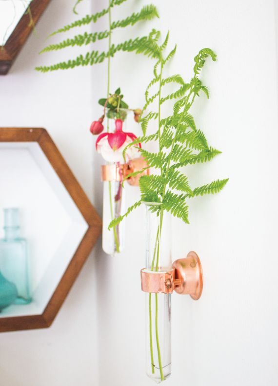 1567594061 336 15 stylish ways to make a hanging wall vase or planter - 15 Stylish Ways To Make A Hanging Wall Vase Or Planter