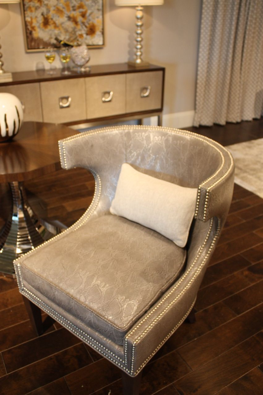 Specialty finishes can be applied to leather.