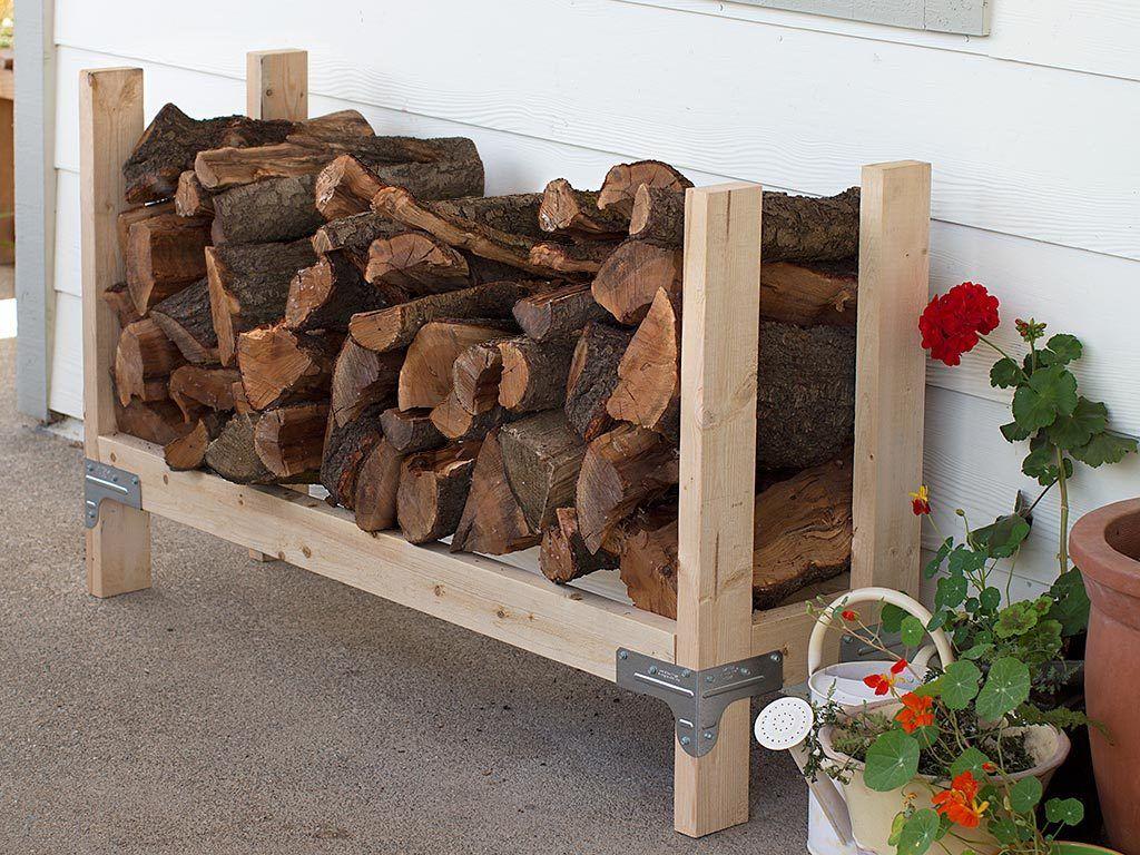 DIY Firewood Rack Ideas With Ingenious Designs