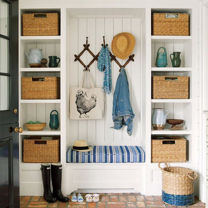 1568121740 130 25 inspiring mudroom ideas for every home and style - 25 Inspiring Mudroom Ideas For Every Home And Style