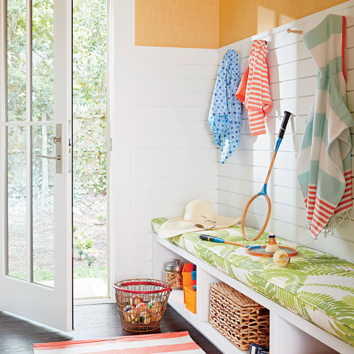 1568121740 31 25 inspiring mudroom ideas for every home and style - 25 Inspiring Mudroom Ideas For Every Home And Style