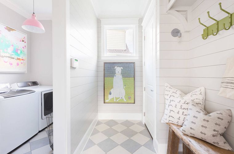 1568121740 331 25 inspiring mudroom ideas for every home and style - 25 Inspiring Mudroom Ideas For Every Home And Style