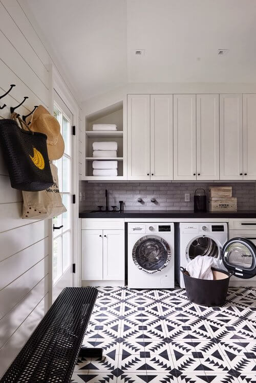 1568121740 481 25 inspiring mudroom ideas for every home and style - 25 Inspiring Mudroom Ideas For Every Home And Style