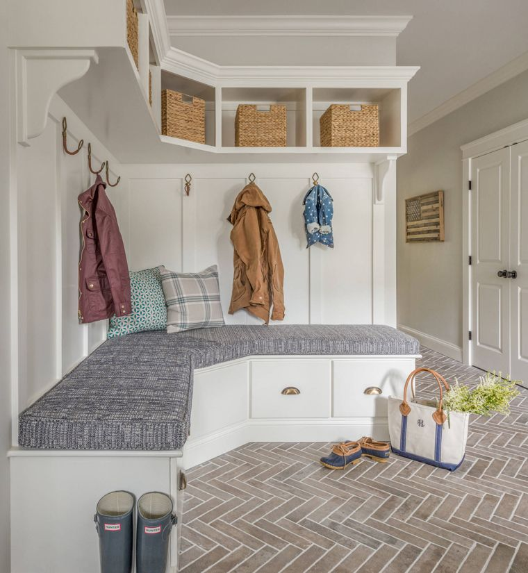 1568121740 519 25 inspiring mudroom ideas for every home and style - 25 Inspiring Mudroom Ideas For Every Home And Style