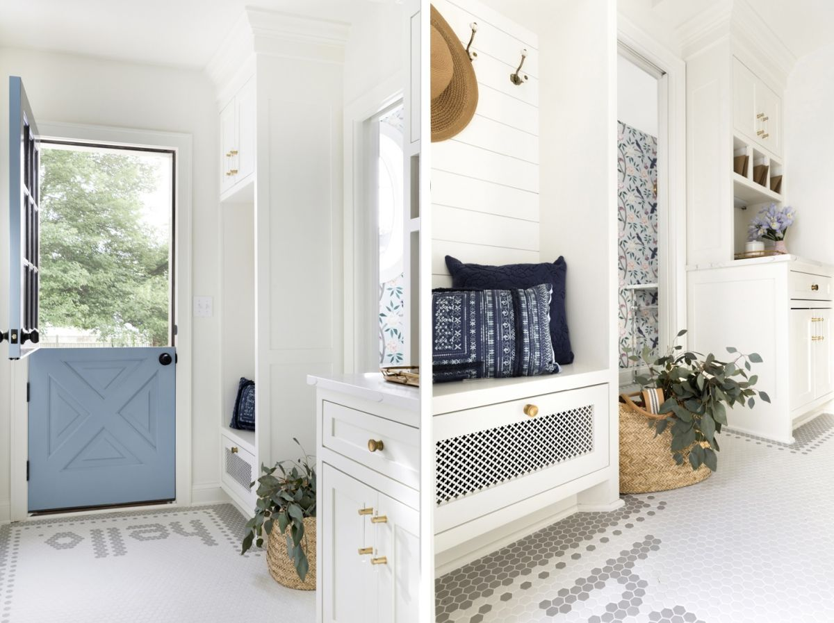1568121740 808 25 inspiring mudroom ideas for every home and style - 25 Inspiring Mudroom Ideas For Every Home And Style