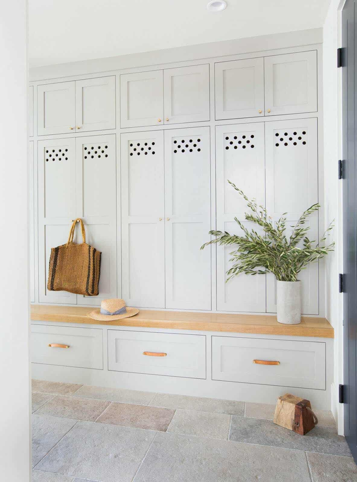 1568121741 80 25 inspiring mudroom ideas for every home and style - 25 Inspiring Mudroom Ideas For Every Home And Style