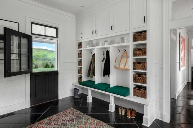 1568121745 36 25 inspiring mudroom ideas for every home and style - 25 Inspiring Mudroom Ideas For Every Home And Style