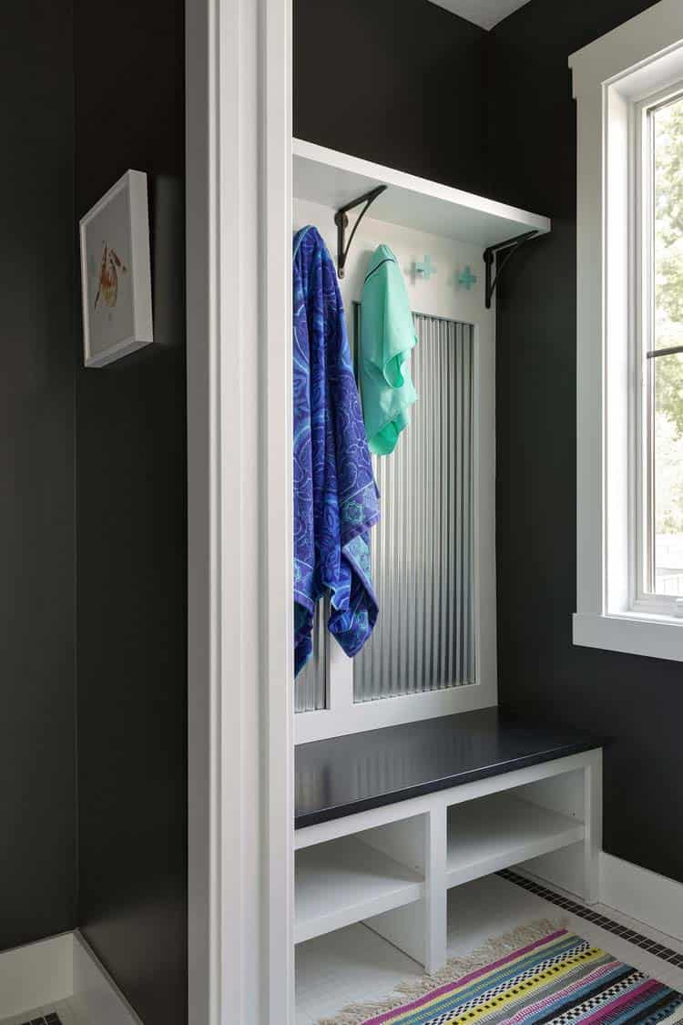 1568121745 591 25 inspiring mudroom ideas for every home and style - 25 Inspiring Mudroom Ideas For Every Home And Style