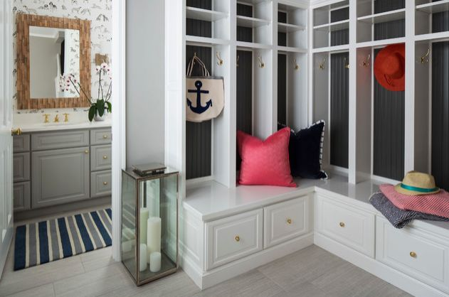1568121746 550 25 inspiring mudroom ideas for every home and style - 25 Inspiring Mudroom Ideas For Every Home And Style