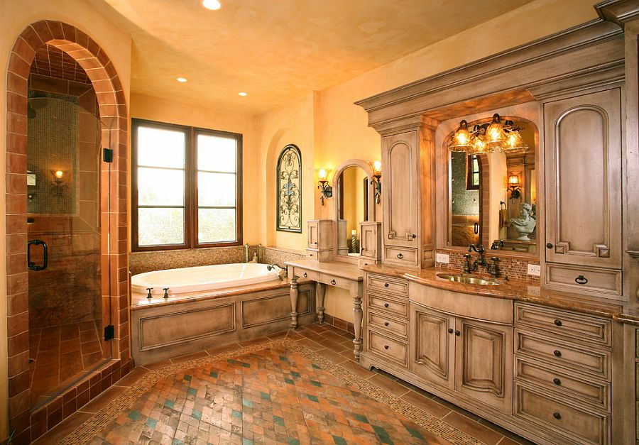 1568143288 225 25 fabulous bathrooms color trends for fall to try out - 25 Fabulous Bathrooms Color Trends for Fall to Try Out