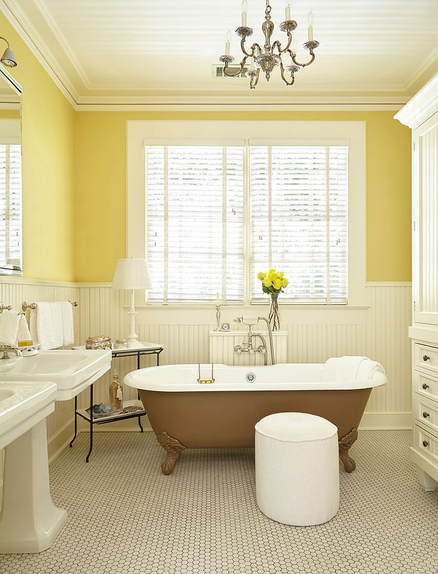 1568143288 385 25 fabulous bathrooms color trends for fall to try out - 25 Fabulous Bathrooms Color Trends for Fall to Try Out