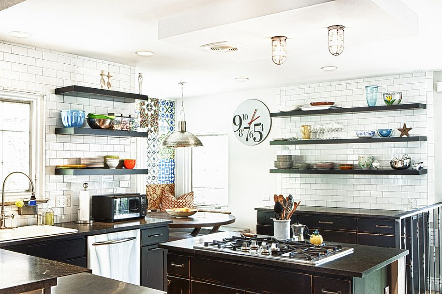 1568311281 232 organization and storage ideas for eclectic kitchen 25 smart inspirations - Organization and Storage Ideas for Eclectic Kitchen: 25 Smart Inspirations