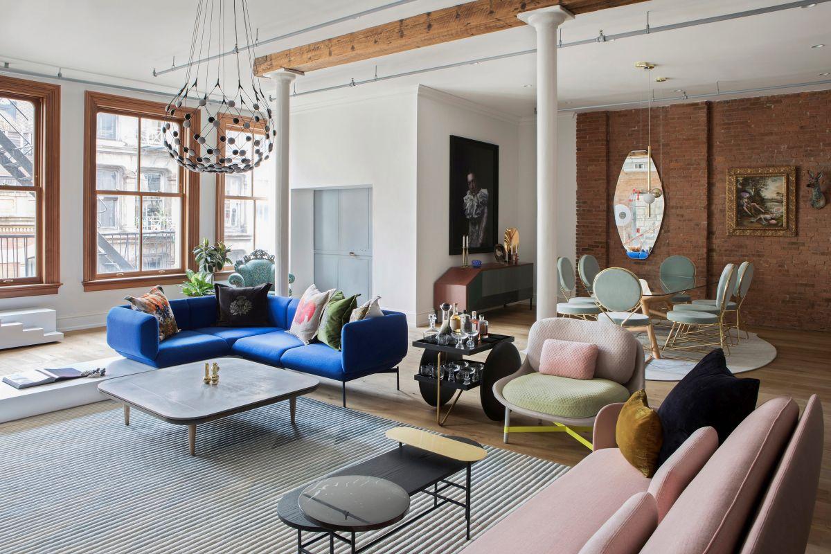 1568895026 239 this soho loft is designed for entertaining and a stylish new york lifestyle - This Soho Loft is Designed for Entertaining and a Stylish New York Lifestyle