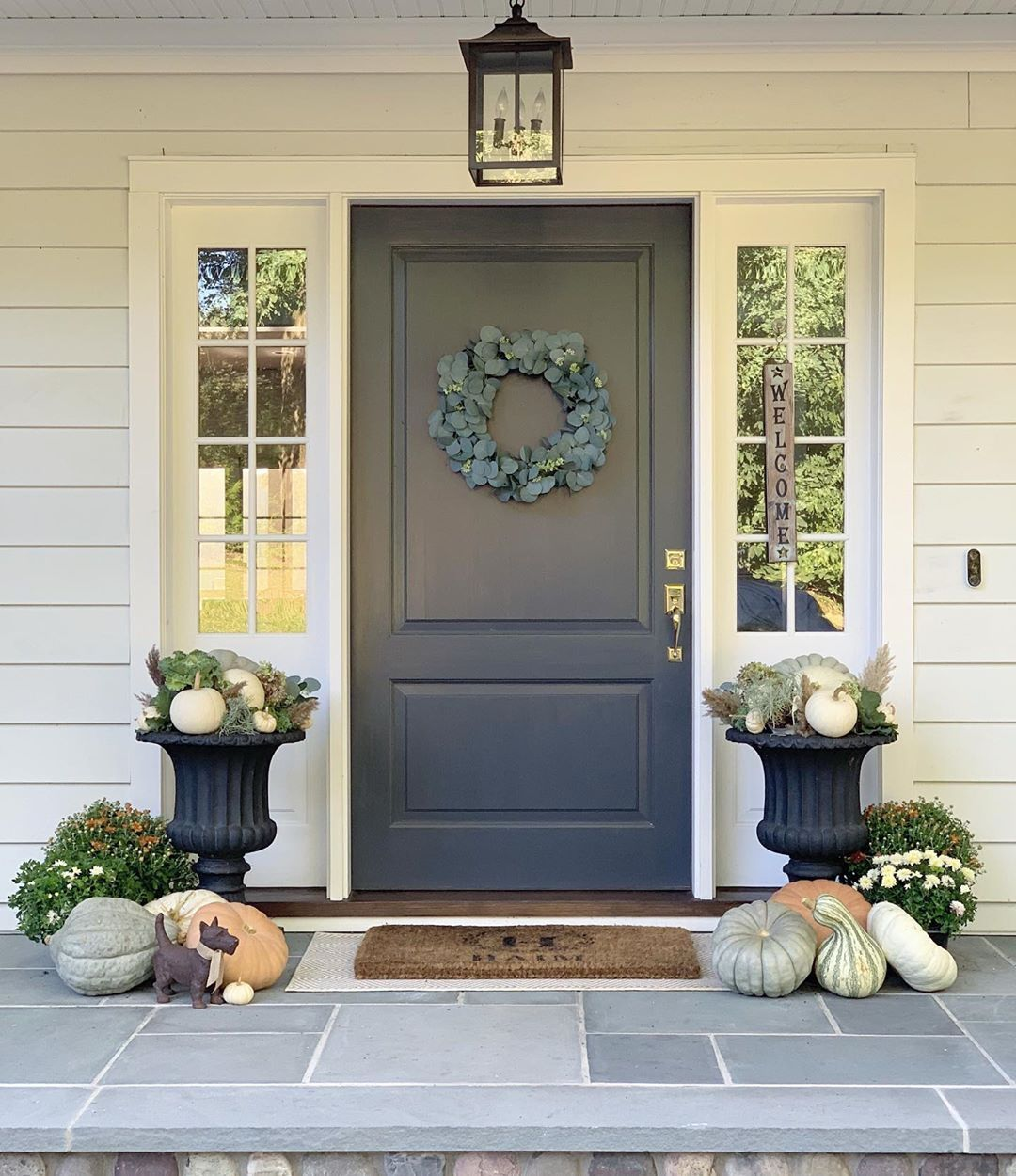 1569404384 501 front porch decor ideas to welcome fall with - Front Porch Decor Ideas To Welcome Fall With