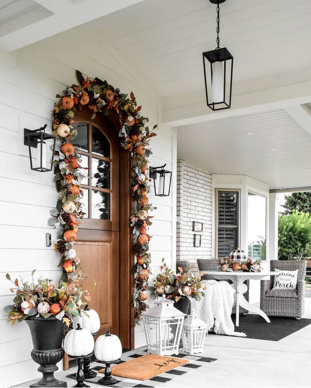 1569404385 363 front porch decor ideas to welcome fall with - Front Porch Decor Ideas To Welcome Fall With