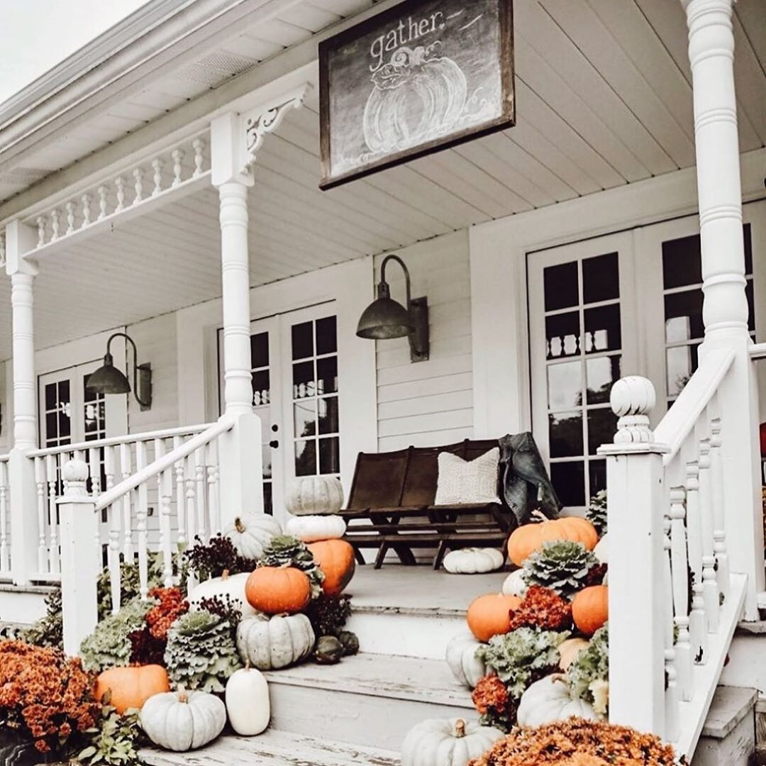 1569404385 842 front porch decor ideas to welcome fall with - Front Porch Decor Ideas To Welcome Fall With