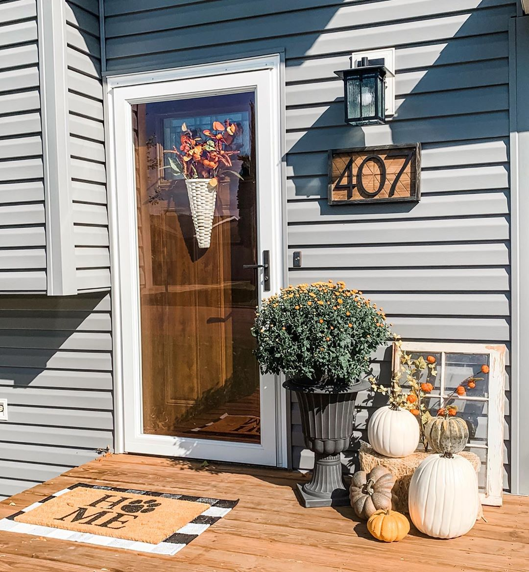 1569404388 990 front porch decor ideas to welcome fall with - Front Porch Decor Ideas To Welcome Fall With