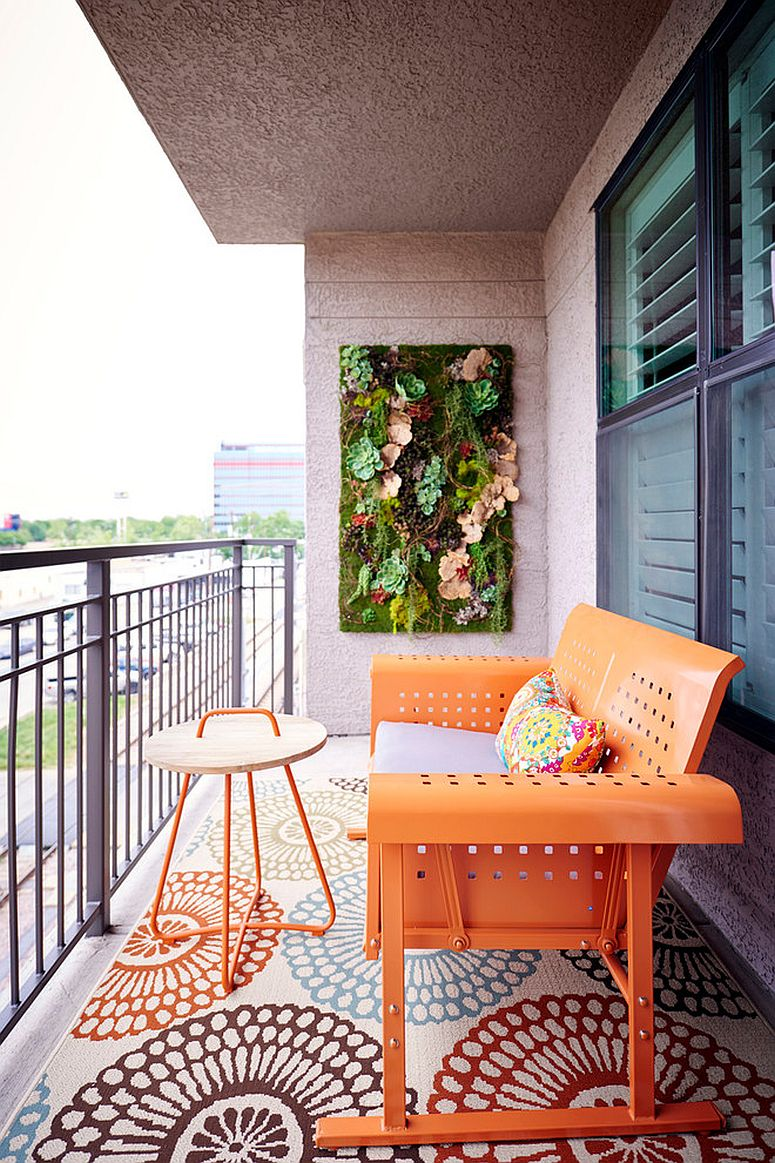 1569688579 860 small balcony decorating ideas with an urban touch 25 ideas photos - Small Balcony Decorating Ideas with an Urban Touch: 25 Ideas, Photos