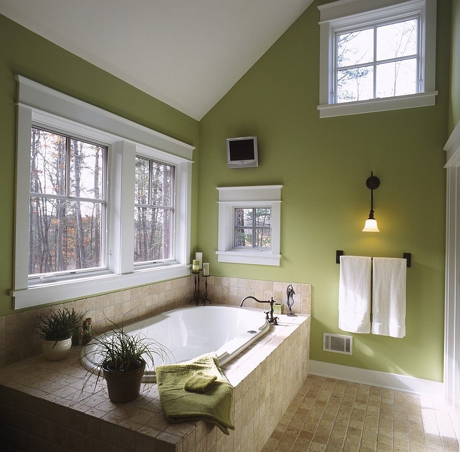 25 fabulous bathrooms color trends for fall to try out - 25 Fabulous Bathrooms Color Trends for Fall to Try Out