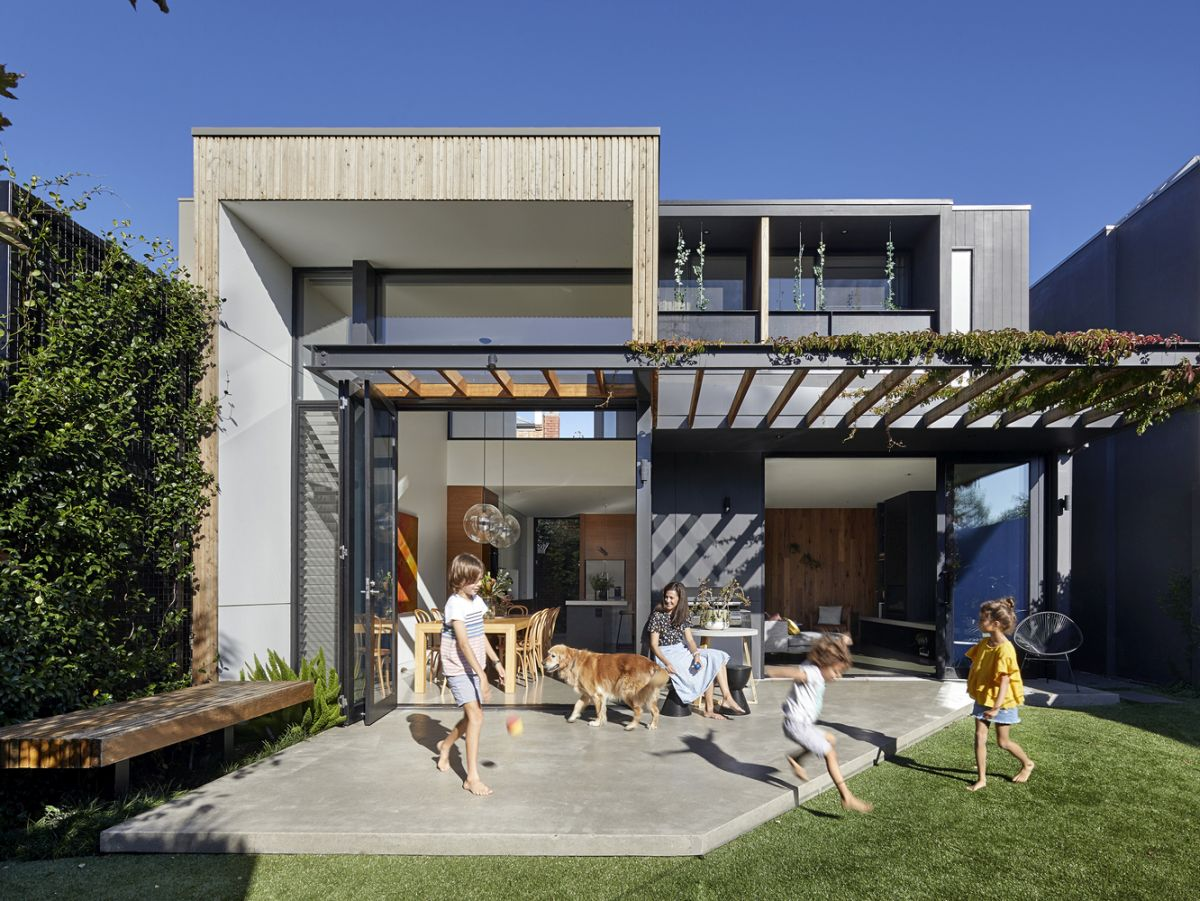 beautiful houses with modern pergola extensions - Beautiful Houses With Modern Pergola Extensions