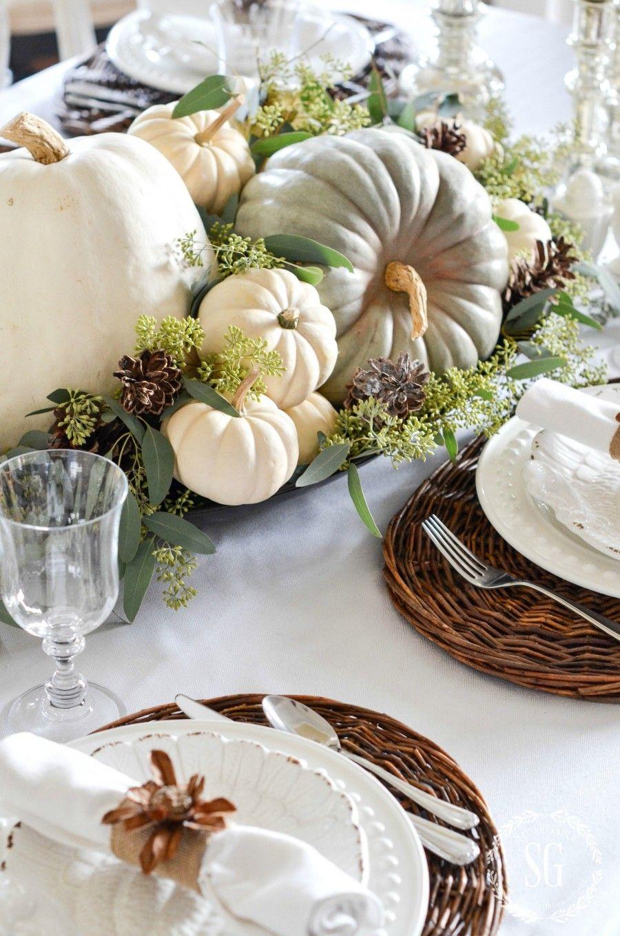 charming pumpkin arrangements that bring the fall into our homes - Charming Pumpkin Arrangements That Bring the Fall Into our Homes
