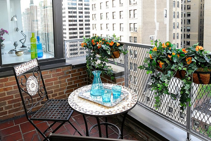 small balcony decorating ideas with an urban touch 25 ideas photos - Small Balcony Decorating Ideas with an Urban Touch: 25 Ideas, Photos