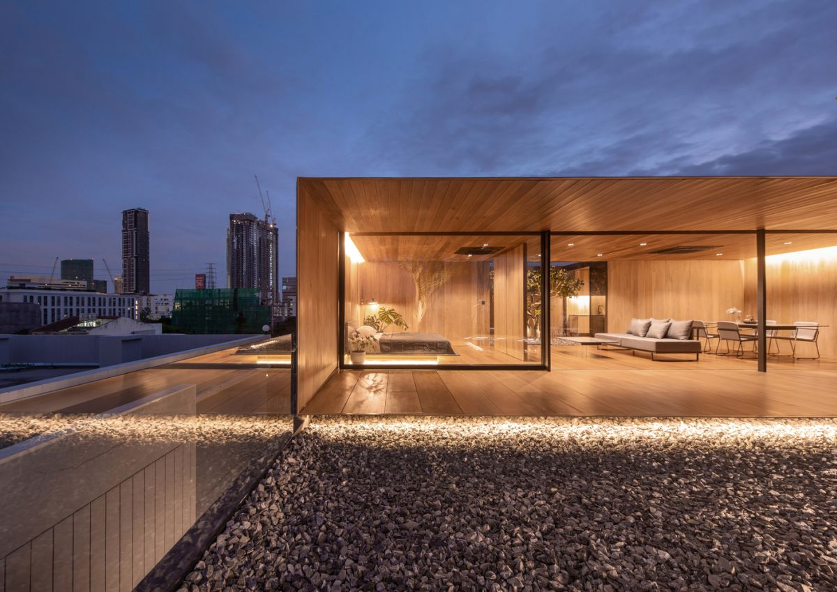 1569913485 664 a charming wooden house sits on the rooftop of an apartment building - A Charming Wooden House Sits On The Rooftop Of An Apartment Building