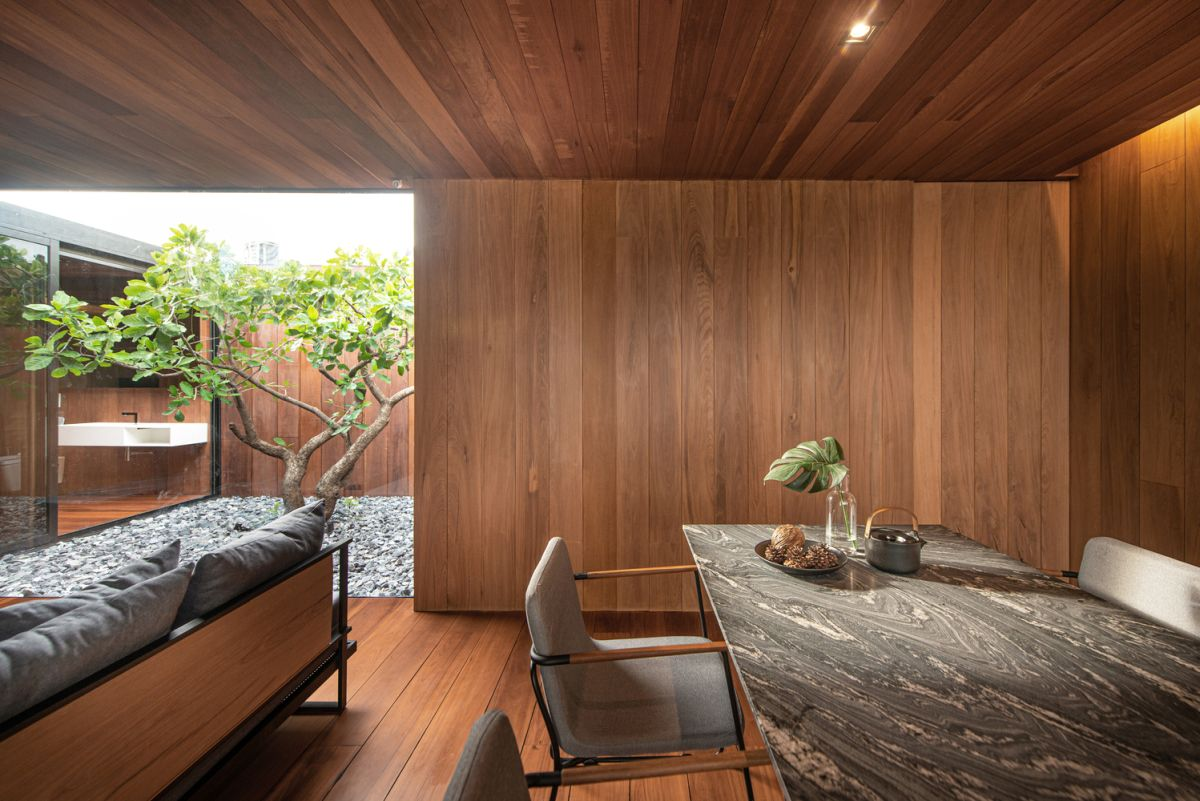 1569913487 190 a charming wooden house sits on the rooftop of an apartment building - A Charming Wooden House Sits On The Rooftop Of An Apartment Building