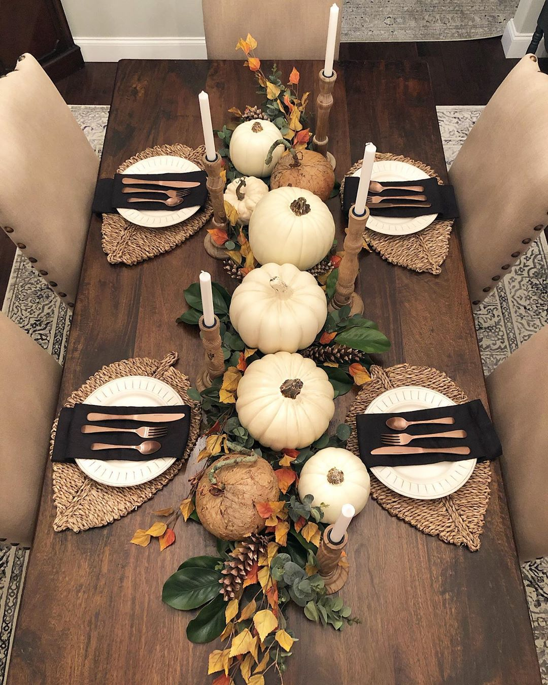 1570190898 86 funky fresh fall tablescapes from instagram - Funky Fresh Fall Tablescapes From Instagram
