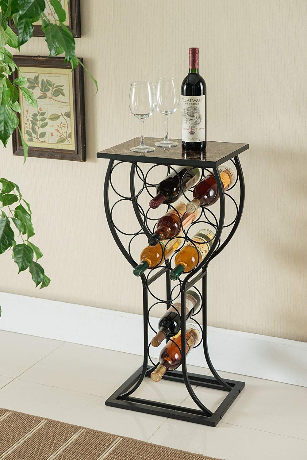 1570466149 321 the best wine rack tables for small and quirky spaces - The Best Wine Rack Tables for Small And Quirky Spaces