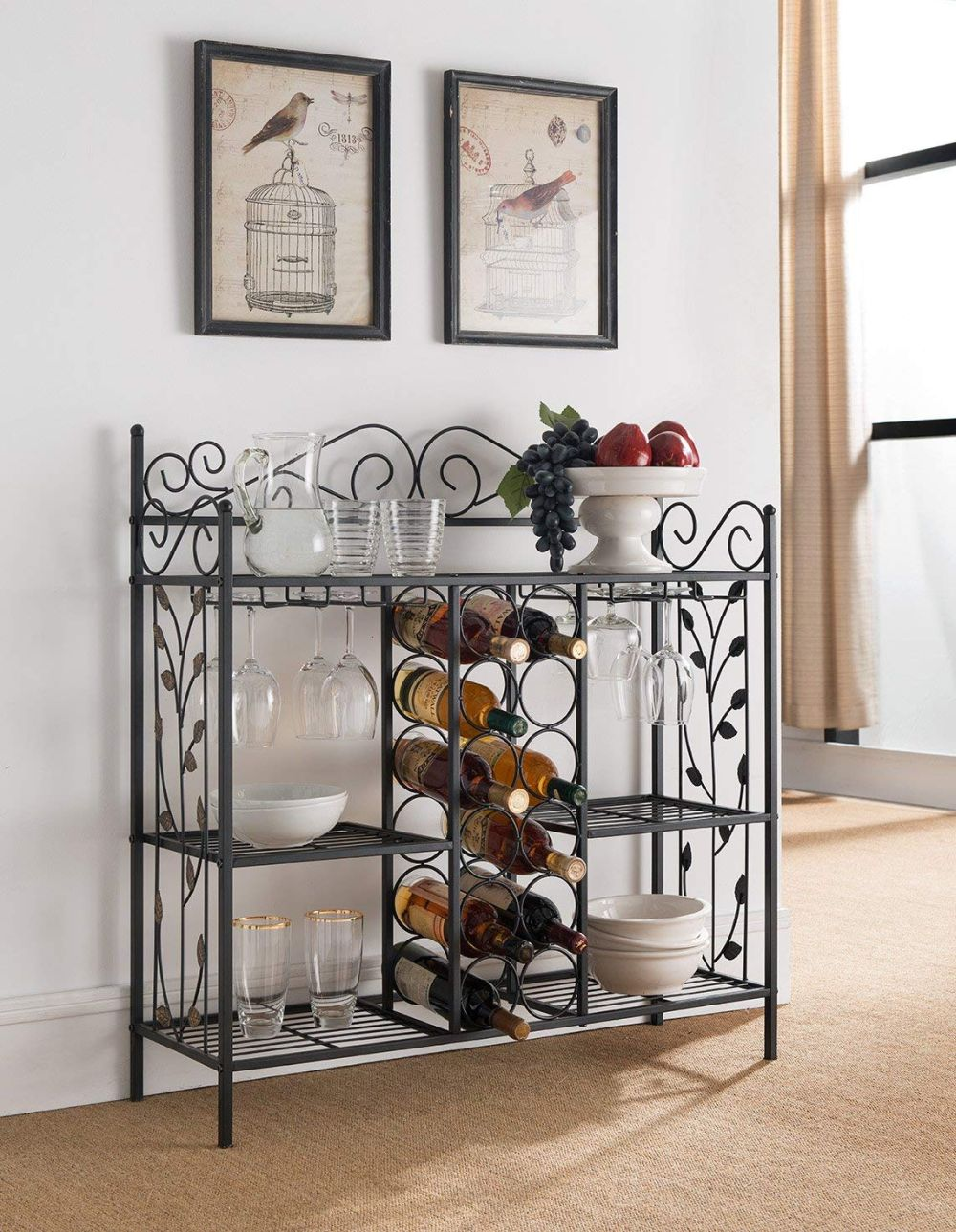 1570466149 38 the best wine rack tables for small and quirky spaces - The Best Wine Rack Tables for Small And Quirky Spaces