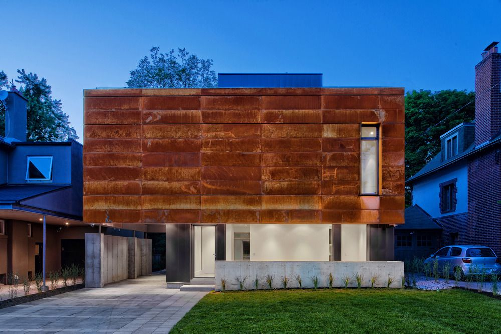 1570520645 363 the wonderful influence of corten steel in architecture - The Wonderful Influence Of Corten Steel In Architecture