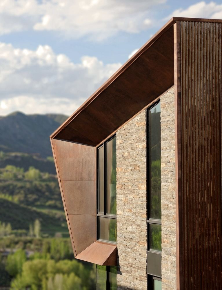 1570520646 240 the wonderful influence of corten steel in architecture - The Wonderful Influence Of Corten Steel In Architecture