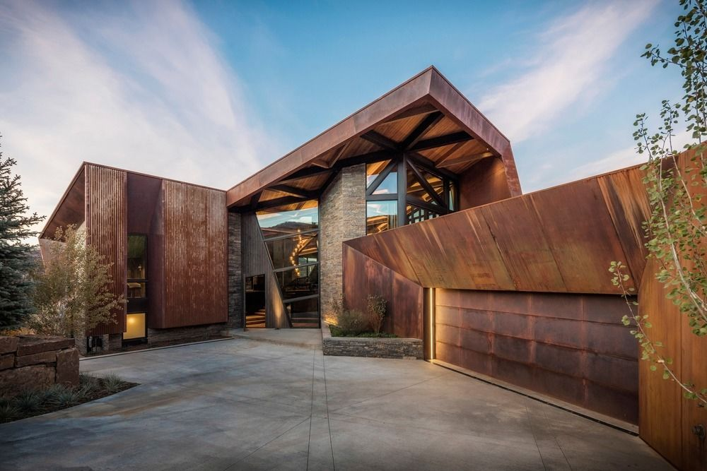 1570520646 40 the wonderful influence of corten steel in architecture - The Wonderful Influence Of Corten Steel In Architecture