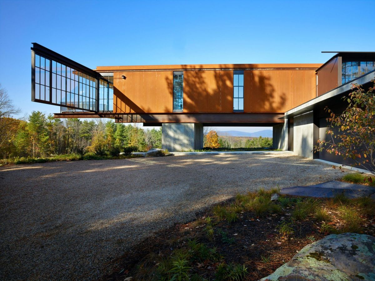 1570520647 780 the wonderful influence of corten steel in architecture - The Wonderful Influence Of Corten Steel In Architecture