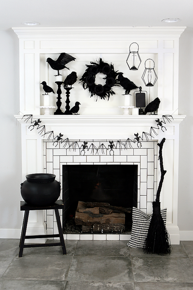 1570603338 670 cool black and white decor ideas for halloween - Cool Black And White Decor Ideas for Halloween