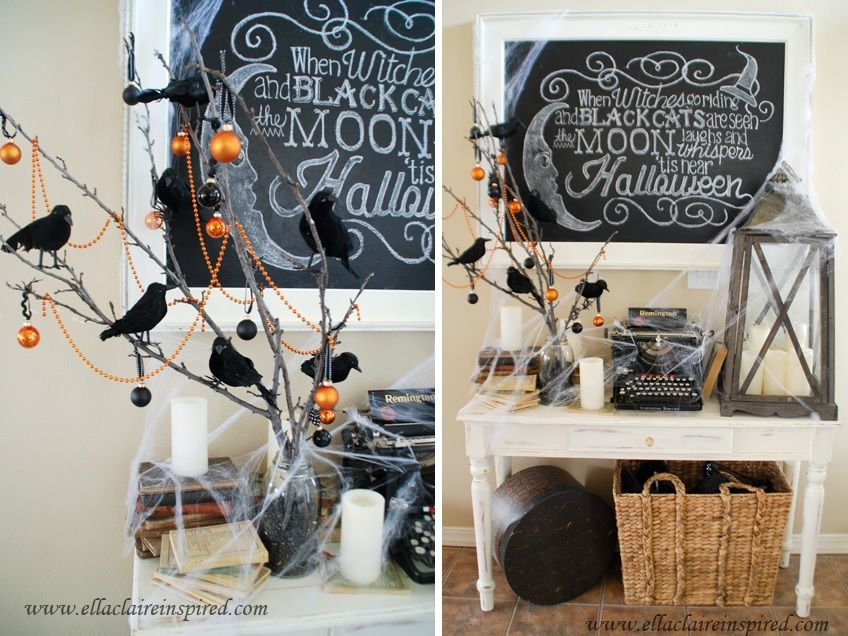 1570603340 400 cool black and white decor ideas for halloween - Cool Black And White Decor Ideas for Halloween