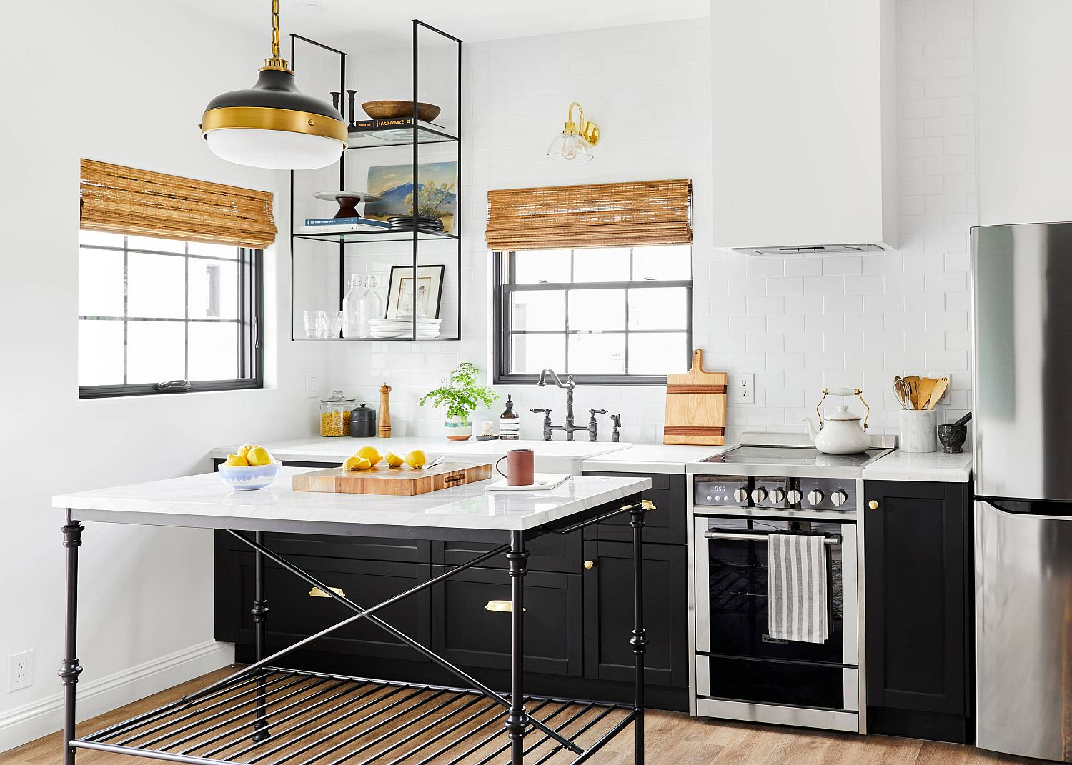 1570614870 837 30 small kitchen lighting ideas that blend form with functionality - 30 Small Kitchen Lighting Ideas that Blend Form with functionality