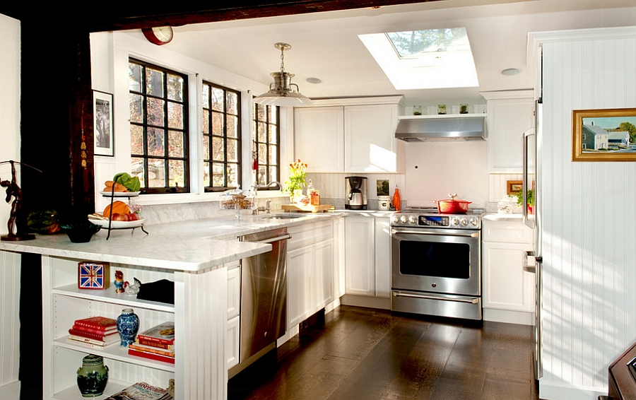 1570614870 925 30 small kitchen lighting ideas that blend form with functionality - 30 Small Kitchen Lighting Ideas that Blend Form with functionality